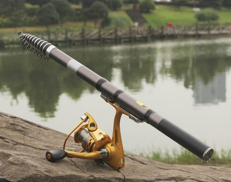 Best telescopic fishing rod for beginners and experts for Best fishing pole for beginners