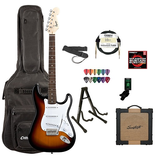 Squier by Fender BulletStrat Trem, Brown Sunburst
