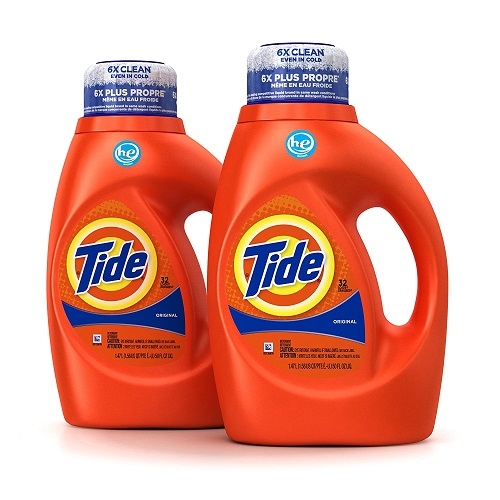 Tide Original Scent HE Turbo Clean Liquid Laundry Detergent