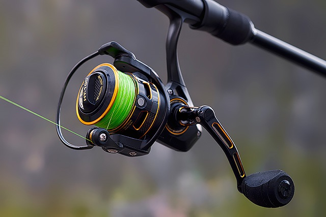 spinning reel handle
