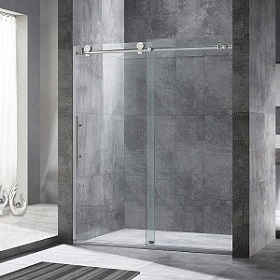 Woodbridge Frameless Sliding Shower Doors