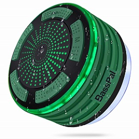 BassPal Shower Speaker, IPX7