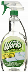 Home Care Labs 65320WK The Works Tub and Shower Cleaner