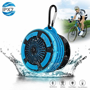 Wireless Waterproof Bluetooth Speaker Shower Radio
