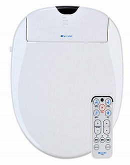 Brondell S100-EW Swash 1000 Advanced Bidet Toilet Seat