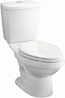 STERLING 402028-0 Karsten 12-Inch Rough-in Elongated Toilet