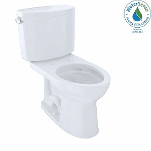TOTO CST454CEFG#01 Drake II Two-Piece Elongated Toilet