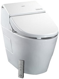 TOTO MS970CEMFG#01 1.28GPF-0.9GPF Washlet with Integrated Toilet