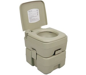 Palm Springs Outdoor 5-Gallon Portable Toilet