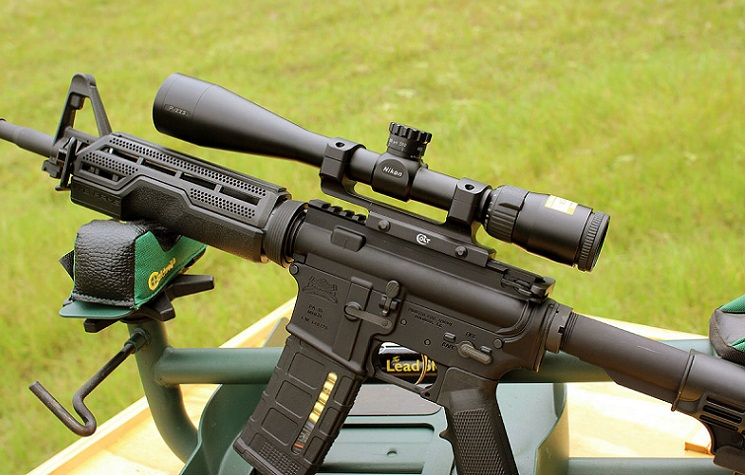 nikon p series riflescope picatinny mount