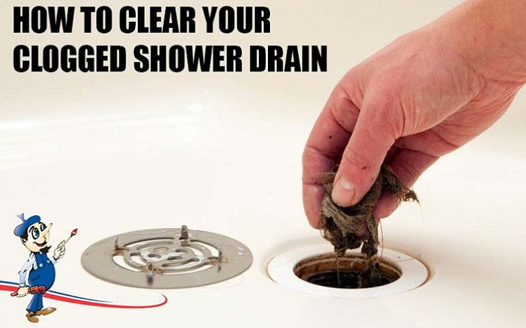 Clear a Clogged Shower Drain