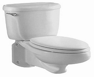 American Standard 2093.100.020 Pressure-Assisted Elongated Wall-Mounted Toilet