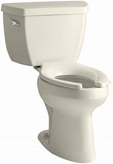 Kohler K-3493-47 Highline Classic Pressure Lite Comfort Height Elongated 1.4 gpf Toilet
