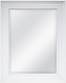 MCS White Wall Mirror