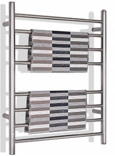 Tangkula Towel Warmer- Freestanding and wall-mounted